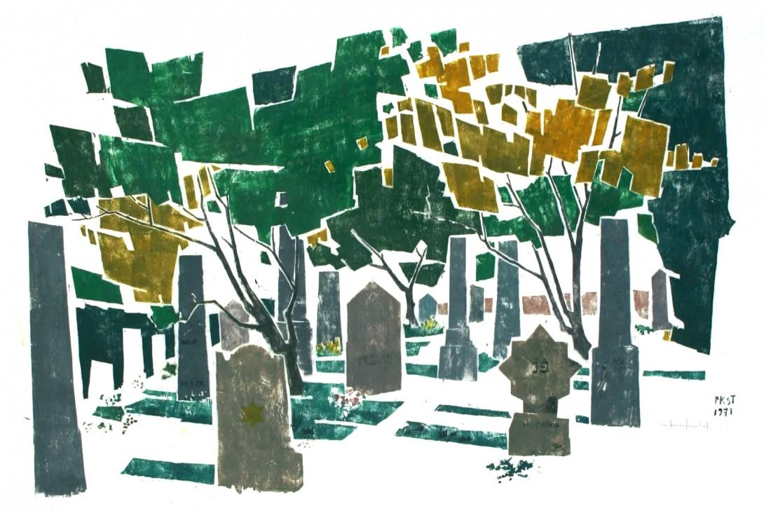 Karl Stadler - Im Judenfriedhof (1971)