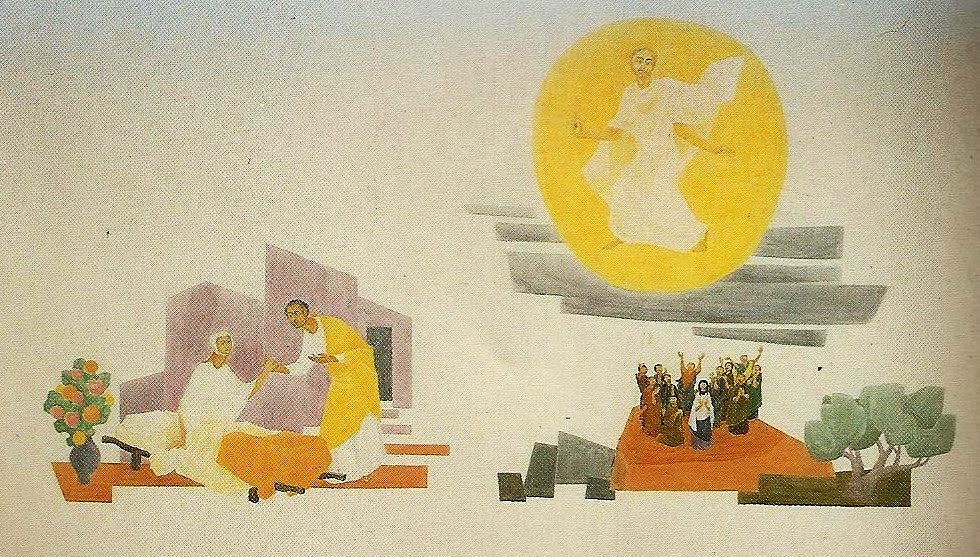 Karl Stadler - Resurrection of Tabitha by the Apostle Peter / Ascension & the Young Church (1984-85)