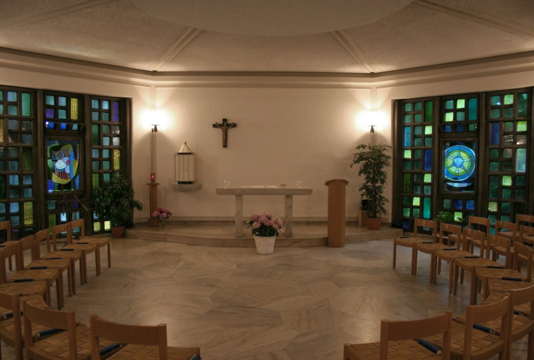 Karl Stadler - Visionen des Br. Klaus, Taufkapelle St. Anton, Luzern (1954)