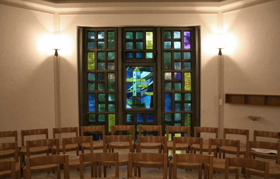 Karl Stadler - Visions of Br. Klaus, Baptismal Chapel, St. Anthony's, Lucerne (1954)