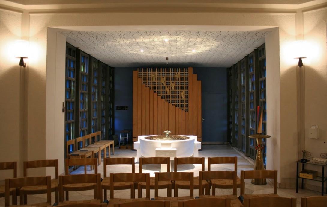Karl Stadler - St. Anthony's Baptismal Chapel, Lucerne (1954)