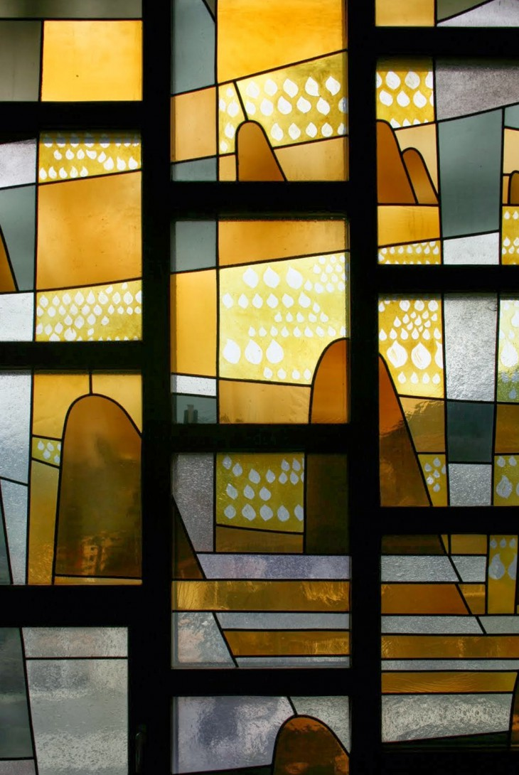 Karl Stadler - The Heavenly Jerusalem, Former House Chapel, Kloster Engelberg (1962)