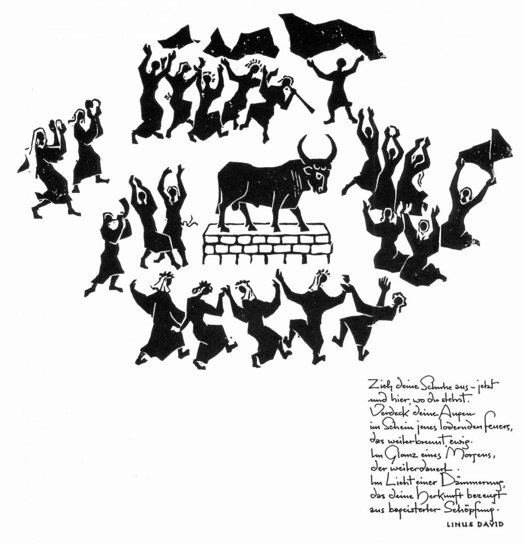 Karl Stadler - Der Tanz um das goldene Kalb. Ex. 32 (1984)