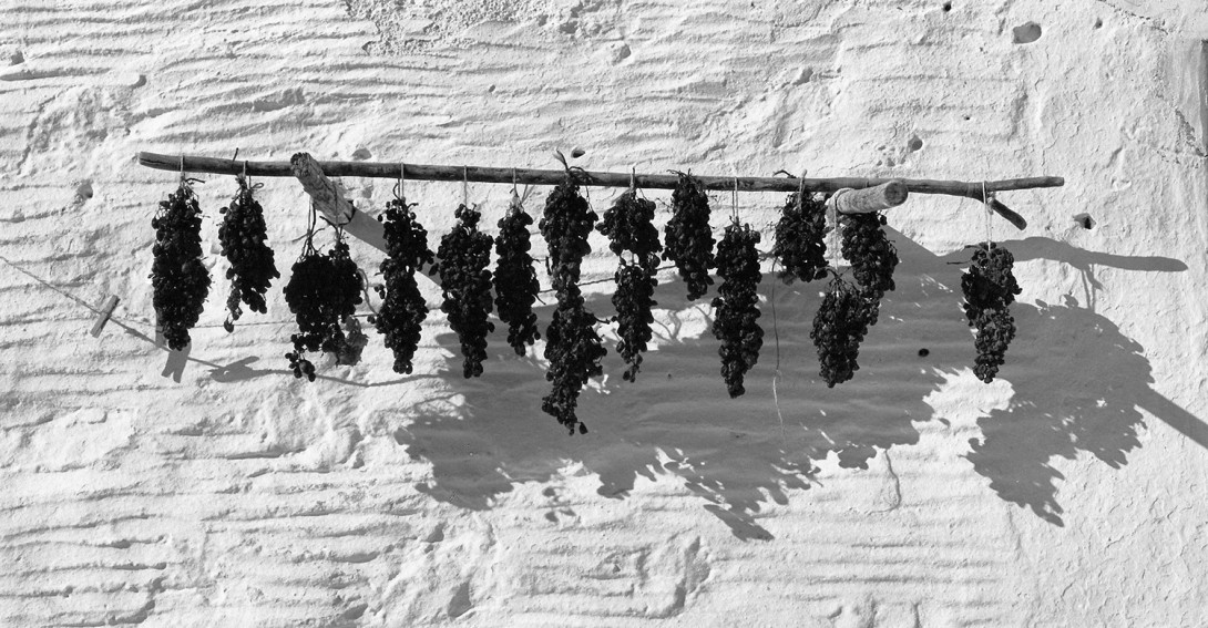 Karl Stadler - Drying Grapes, Paros (1968)