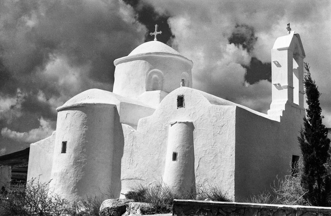 Karl Stadler - Kloster As. Avaovios bei Marpissa, Paros (1968)