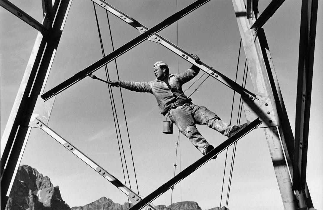 Karl Stadler - Masten der Trübseebahn