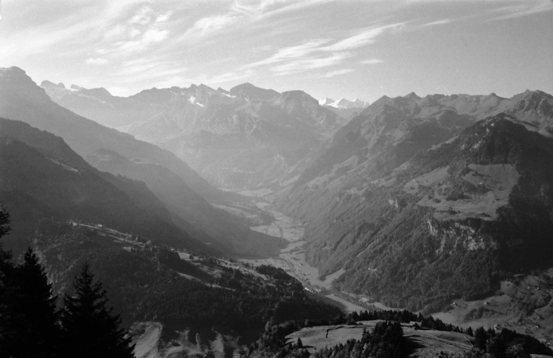 Karl Stadler - Engelberg Valley from Maria-Rickenbach
