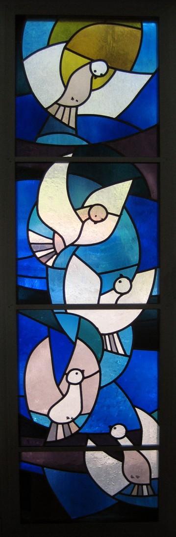 Karl Stadler - Doves, Convent Maria-Rickenbach (1974)