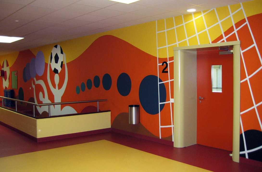 Karl Stadler - Ball Play, Sports Center Bütschwil (1980)