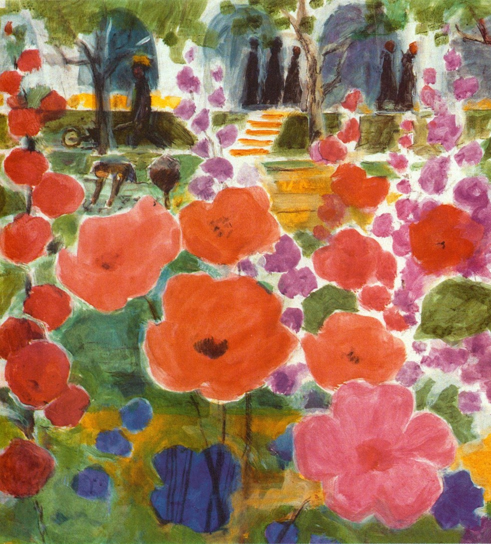 Karl Stadler - In the Monastery Garden (1989)