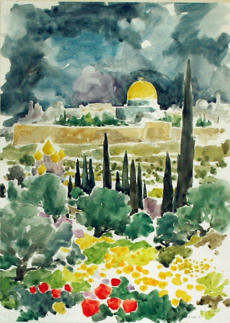 Karl Stadler - Jerusalem (1976)