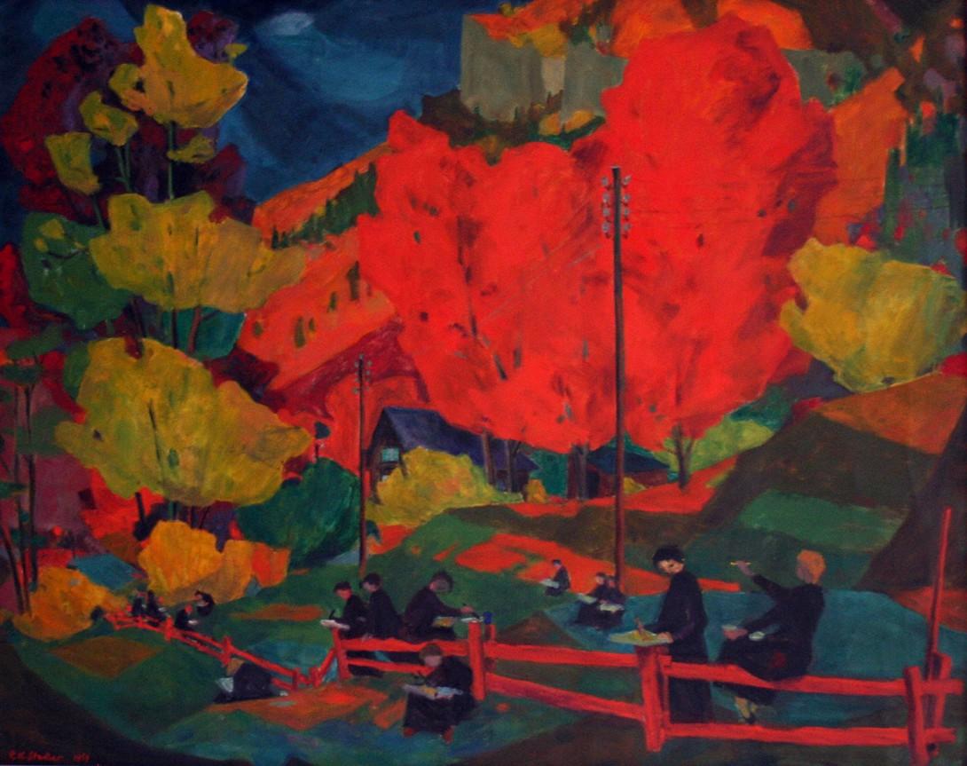 Karl Stadler - Unbetitelt (1957)