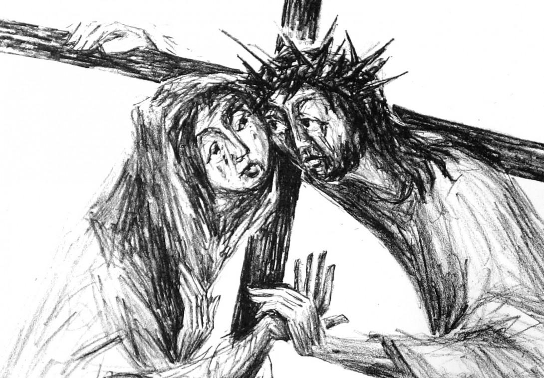 Karl Stadler - Die weinende Frau / Kreuzweg (1974)