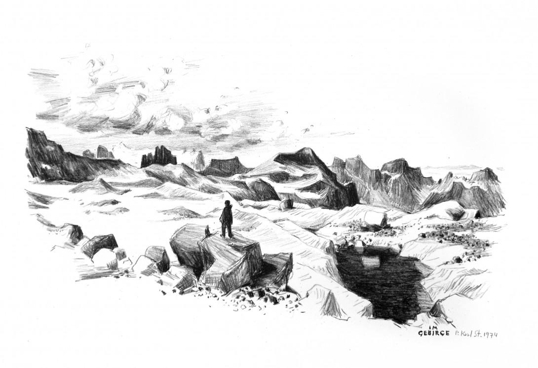 Karl Stadler - Im Gebirge (1974)