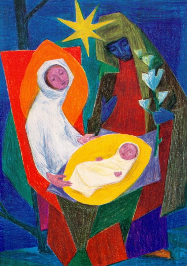 Karl Stadler - Geburt Christi