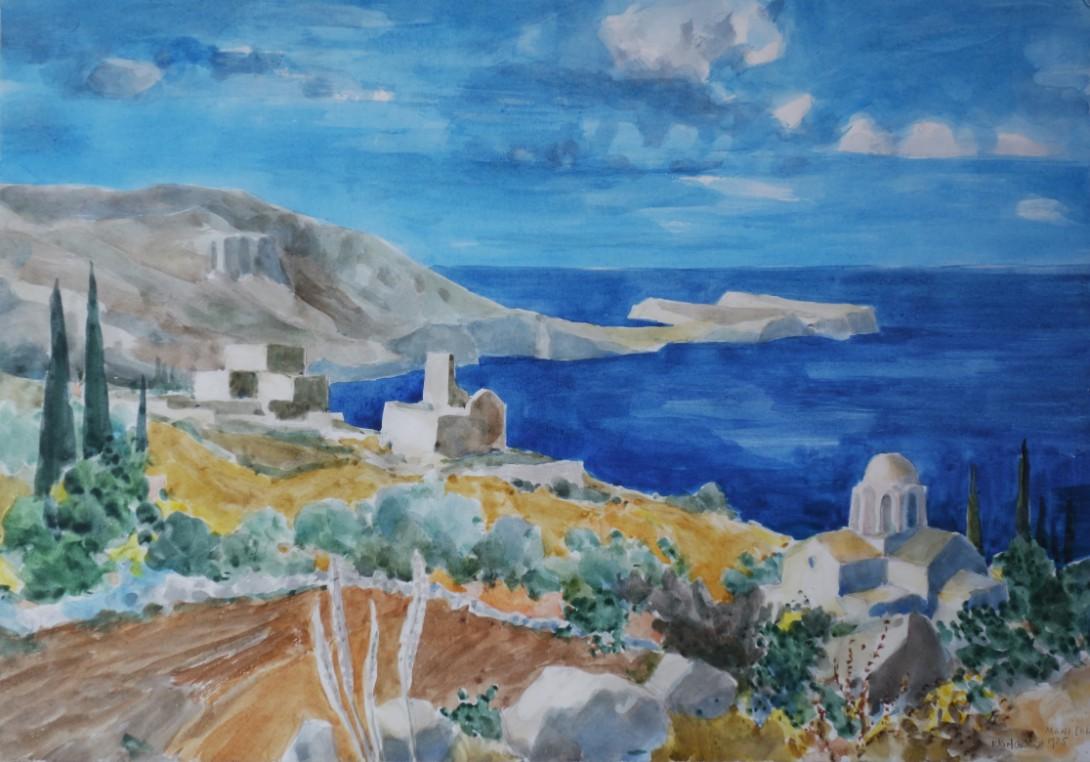 Karl Stadler - Mani Halbinsel, Griechenland (1985)